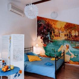 Villa des Violettes-Toulouse-suite les Songes d'Ophir-chambre principale avec salon - Chambre d'hôtes - Toulouse