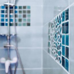 Villa des Violettes-Toulouse-suite les Songes d'Ophir-salle de bain detail - Chambre d'hôtes - Toulouse