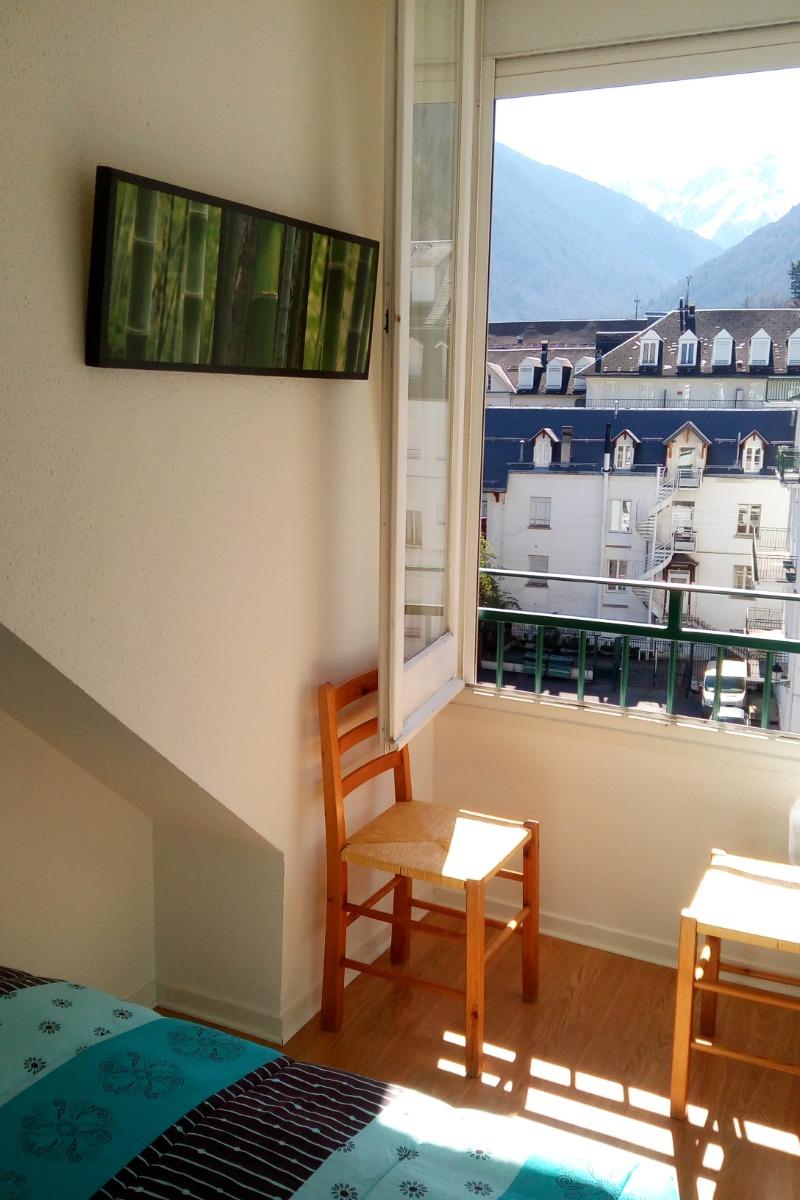Vue chambre - Location de vacances - Luchon