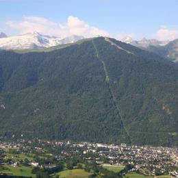 Vue de Luchon - Location de vacances - Saint-Mamet