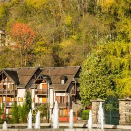La résidence dans son environnement boisé - Location de vacances - Luchon