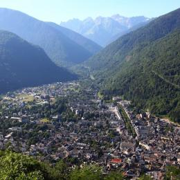 Vue de la vallée de Luchon - Location de vacances - Luchon
