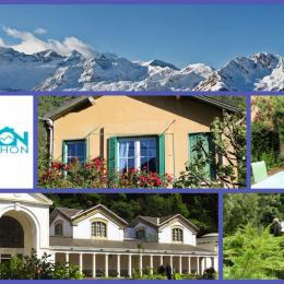 Maison a louer Tilleul :son jardin  - Location de vacances - Bagnères-de-Luchon
