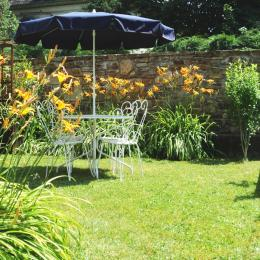 Jardin privé - Location de vacances - Luchon