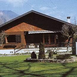 Vue du Chalet - Location de vacances - Antignac