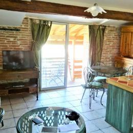 Le balcon des gites: une vue jusqu'à Toulouse - Location de vacances - Montbrun-Lauragais
