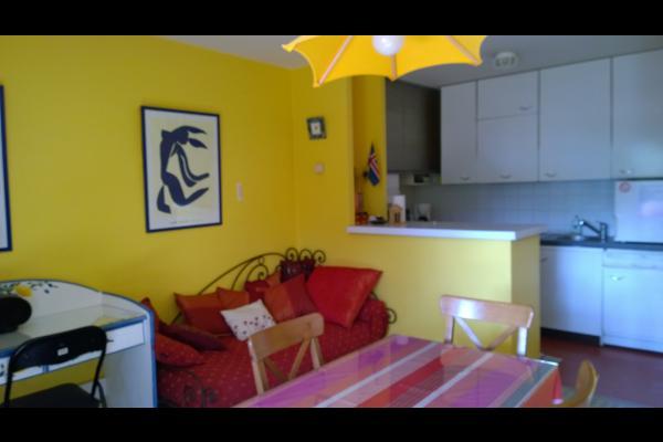 vue sur cuisine - Location de vacances - Toulouse