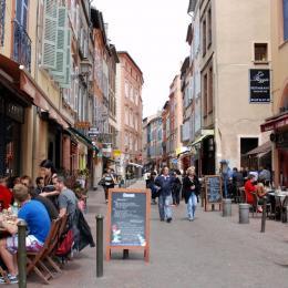 Rue des Filatiers côté Carmes - Location de vacances - Toulouse