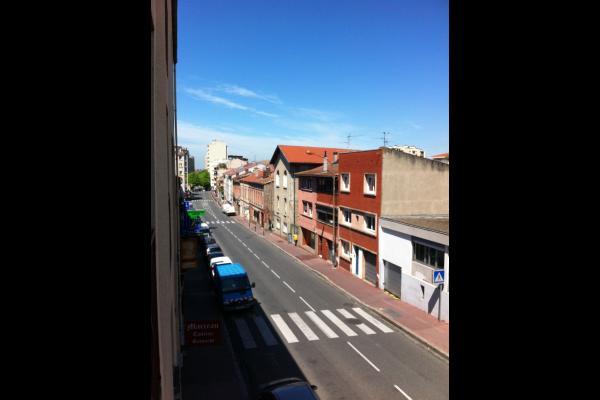 Vue côté Place Dupuy et Canal du Midi - Location Toulouse