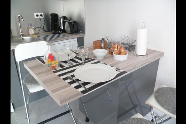 Espace repas - Location Toulouse