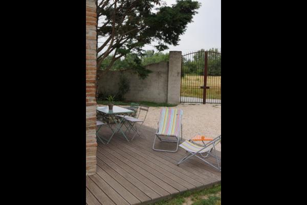 Terrasse - Location de vacances - Noé