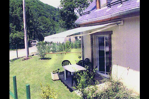 Vue extérieure - Location de vacances - Saint-Mamet