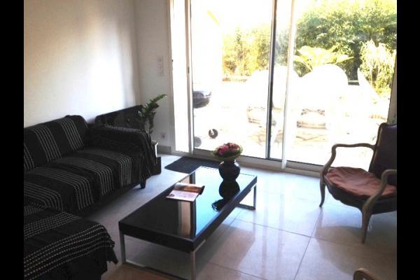 le salon donnant sur jardin - Location de vacances - Toulouse