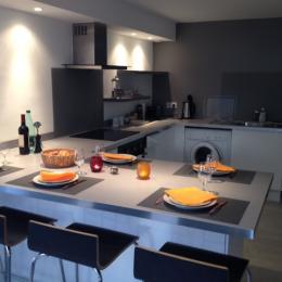 la cuisine salle a manger - Location de vacances - Toulouse