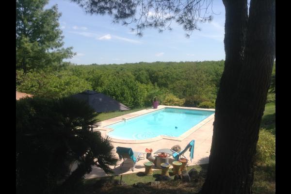 piscine 10X5 - Location de vacances - Saint-Geniès-Bellevue