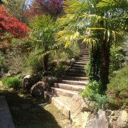 porche d'entrée - Location de vacances - Saint-Geniès-Bellevue