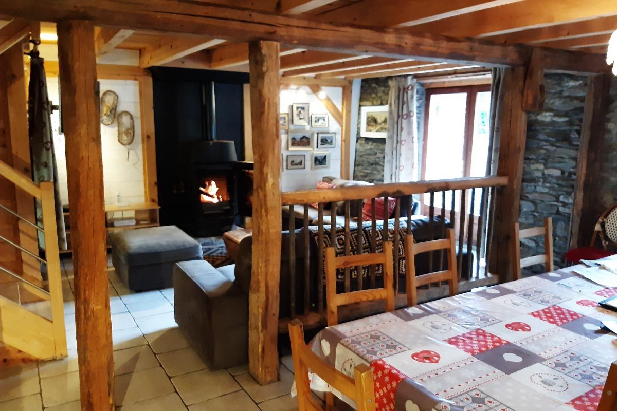 La pièce à Vivre - Location de vacances - Antignac