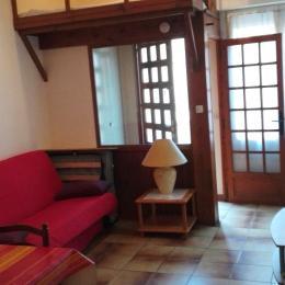 Côté salon - Location de vacances - Luchon