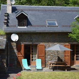 Vue hiver - La Grange des Biches - Luchon - Location de vacances - Benque-Dessous-et-Dessus