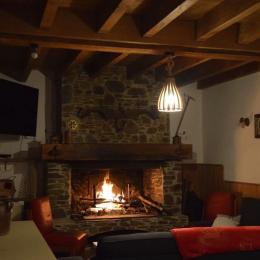 Salon et séjour - La Grange des Biches - Luchon - Location de vacances - Benque-Dessous-et-Dessus