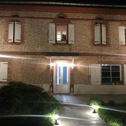 Grand salon étage - Location de vacances - Mauvaisin