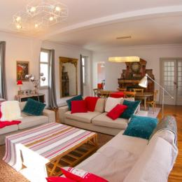 Grand salon - Location de vacances - Bagnères-de-Luchon