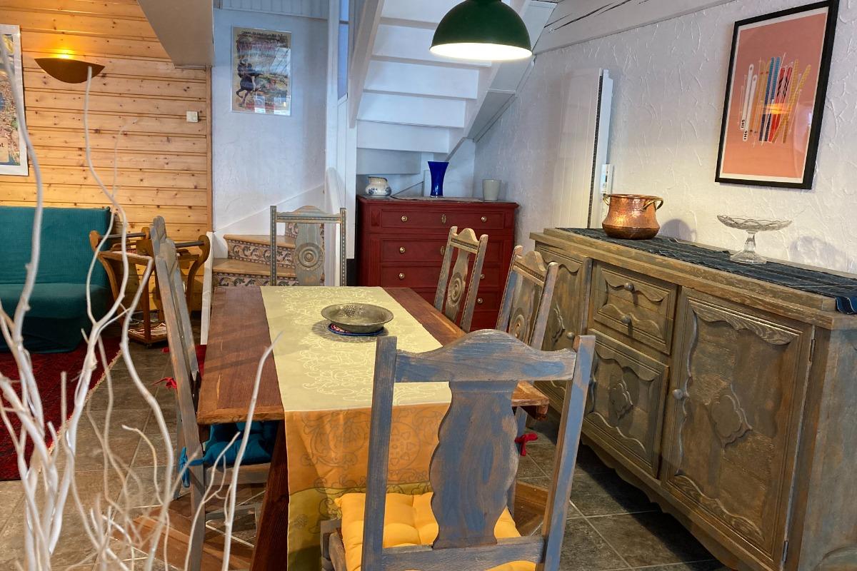 Espace repas - Location de vacances - Saint-Mamet