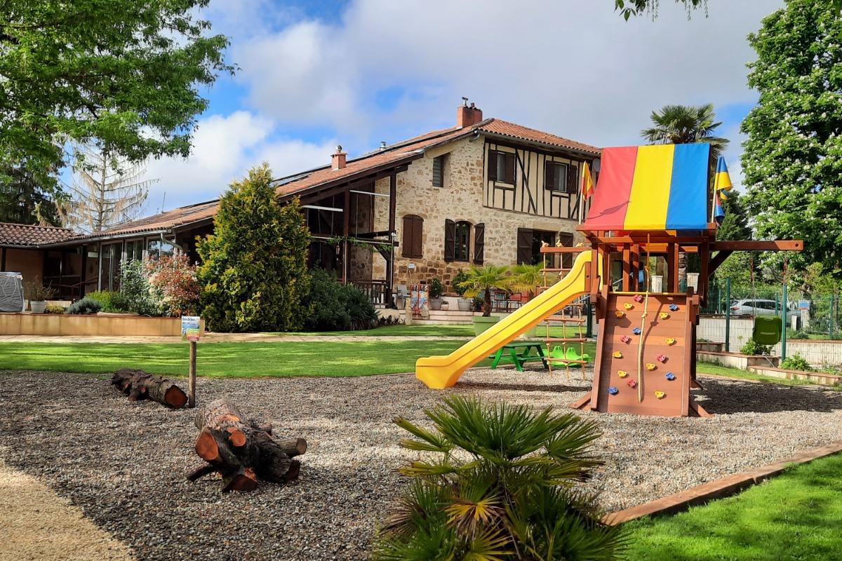 Chambre d'hôtes au Domaine du Castex - 3 lits 90 cm - Chambre d'hôtes - Aignan