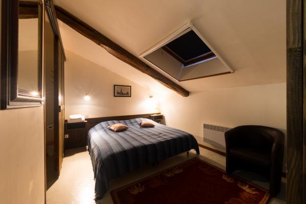 Chambre d'hôtes au Domaine du Castex - 2 lits 90 cm rapprochés - Chambre d'hôtes - Aignan