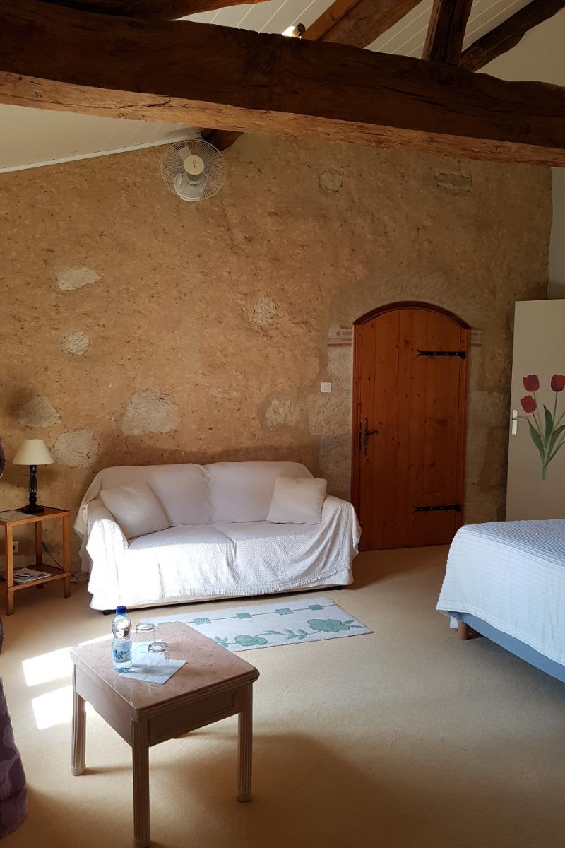 camalia coin salon - Chambre d'hôtes - Castéra-Verduzan