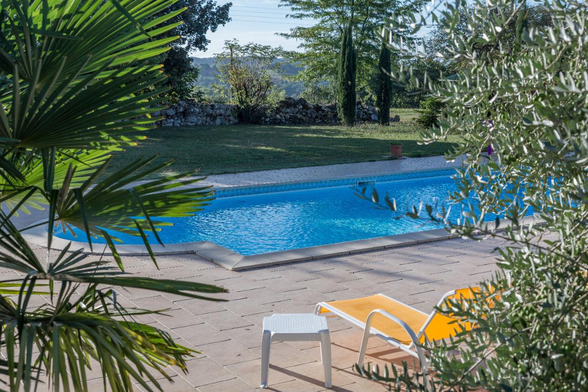 piscine  - Chambre d'hôtes - Castéra-Verduzan
