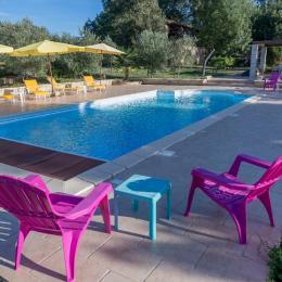la piscine1  - Chambre d'hôtes - Castéra-Verduzan