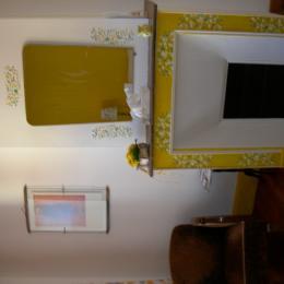 cheminée  mimosa - Chambre d'hôtes - Miélan