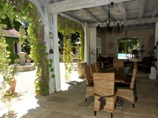 jardin - Chambre d'hôtes - Marciac