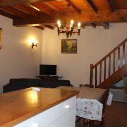 salon vu du coin cuisine - Location de vacances - Goutz