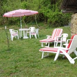 jardin - Location de vacances - Barbotan Les Thermes