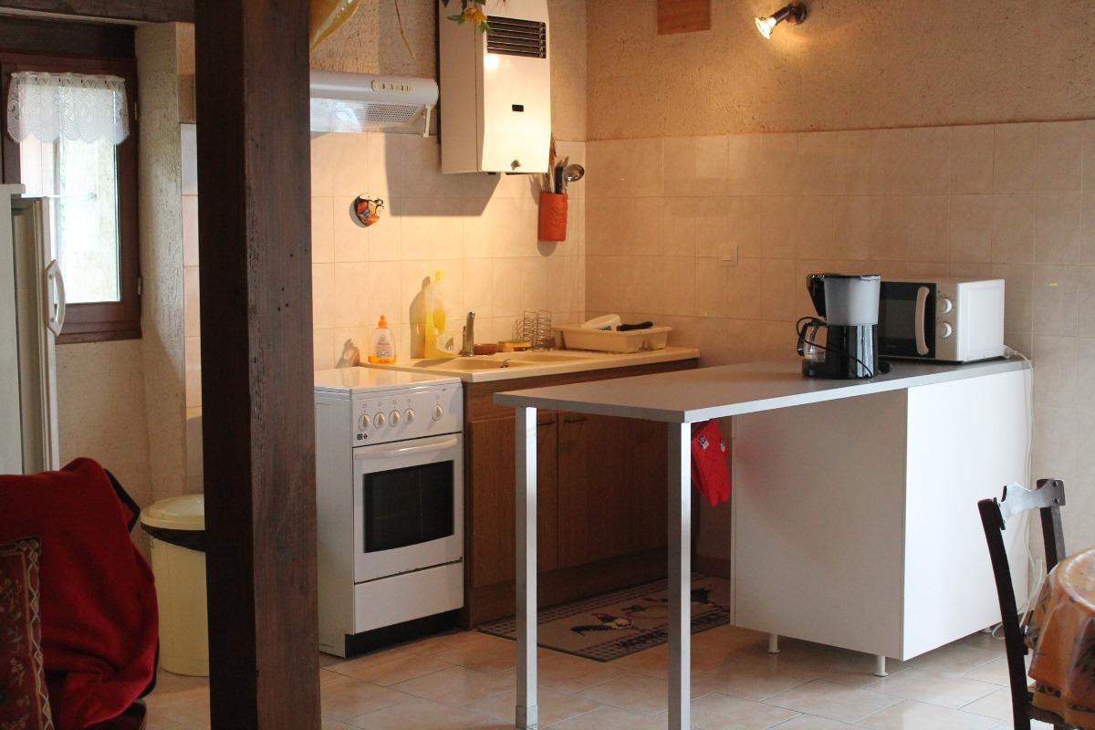 coin cuisine - Location de vacances - Goutz