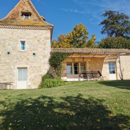Chambre du bas - Location de vacances - Castéra-Lectourois