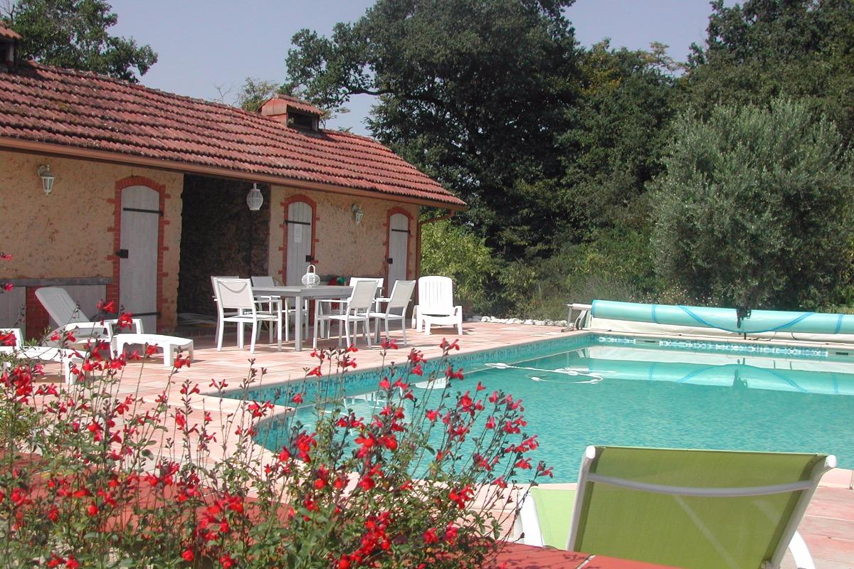 piscine - Location de vacances - Manciet
