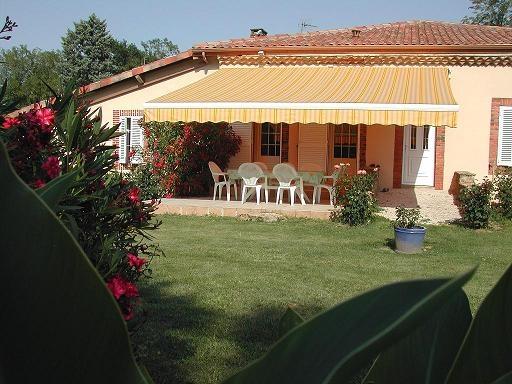terrasse - Location de vacances - Manciet
