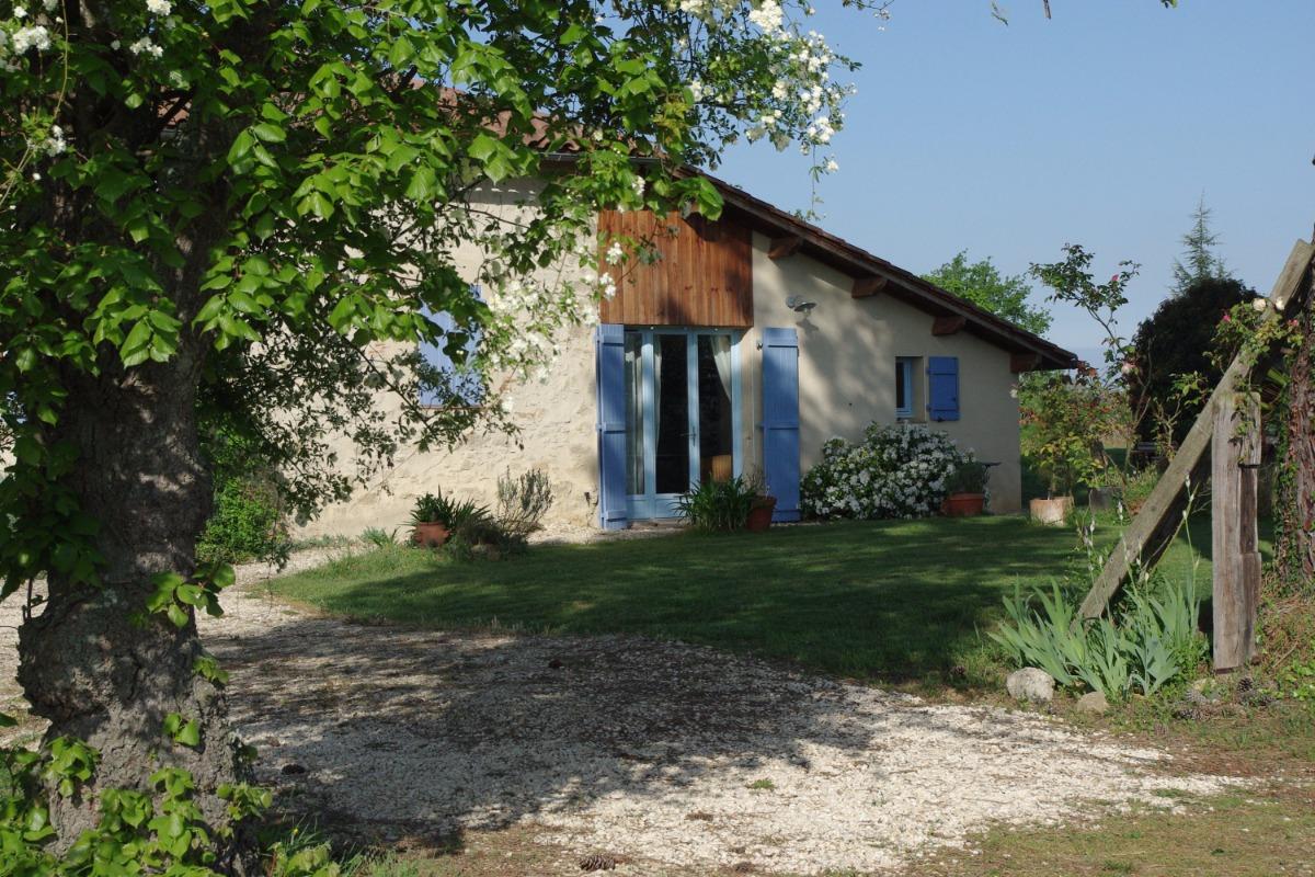 Gîte en Gascogne - Location de vacances - Bouzon-Gellenave