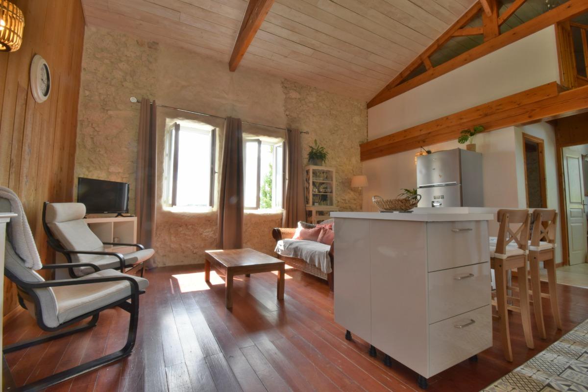 LA ROSE DES VENTS AQUILON - Location de vacances - Castelnau-sur-l'Auvignon