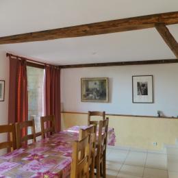 la table de salle à manger - Location de vacances - Lelin-Lapujolle