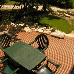 terrasse  - Location de vacances - Lectoure