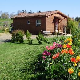 Accueil gite à l'horizon fleurs printemps - Location de vacances - Tieste-Uragnoux