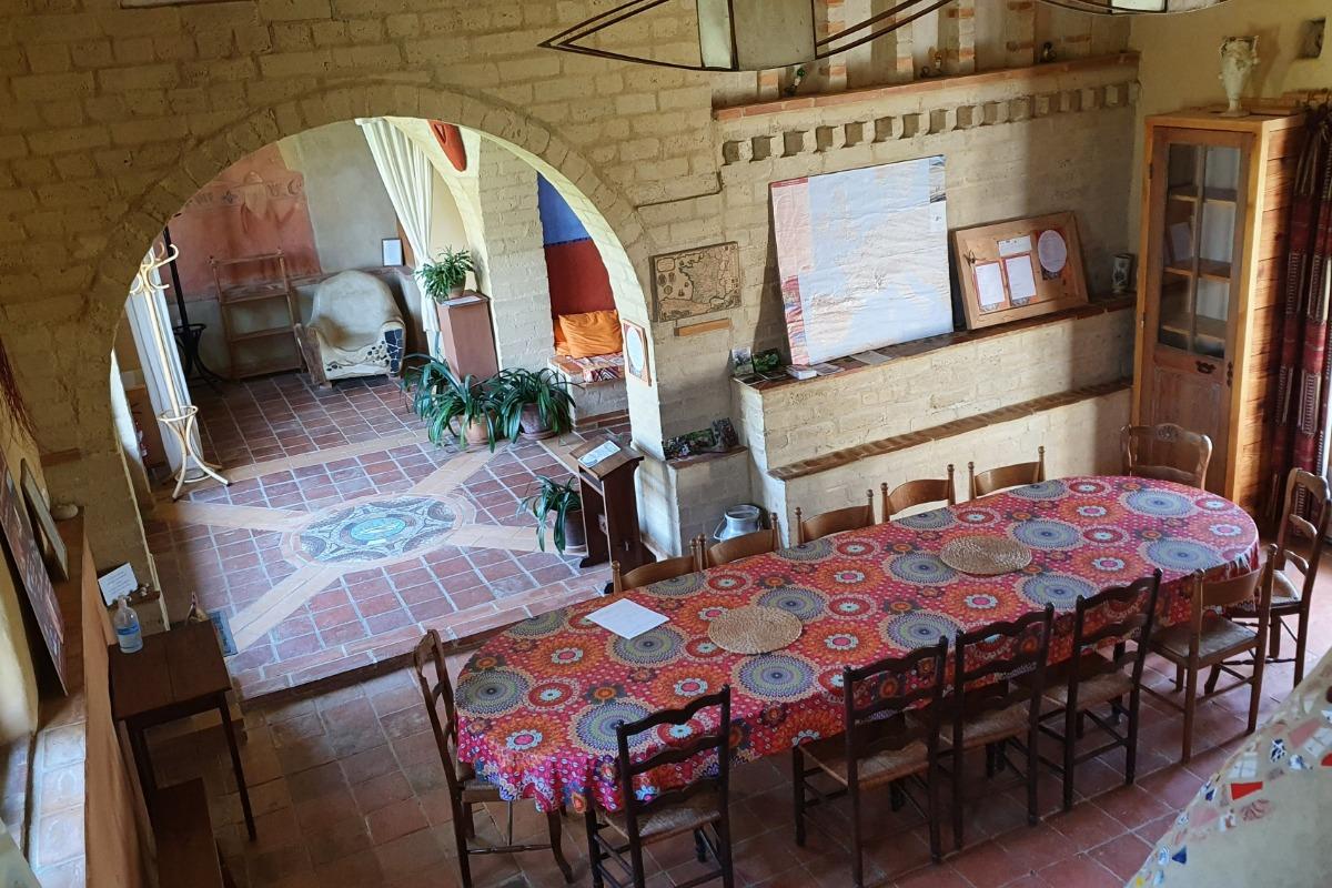 Dortoir de 7 lits - Location de vacances - L'Isle-Arné