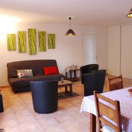 Salon et séjour - Location de vacances - Aignan