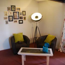 Chambre du Photographe - salon - Chambre d'hôtes - Aignan