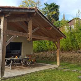 Gîte Le Jardin de La Fontaine - Terrasse Sud- Lupiac - Location de vacances - Lupiac