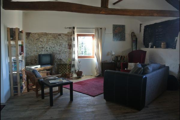Salon - Chambre d'hôtes - Viella